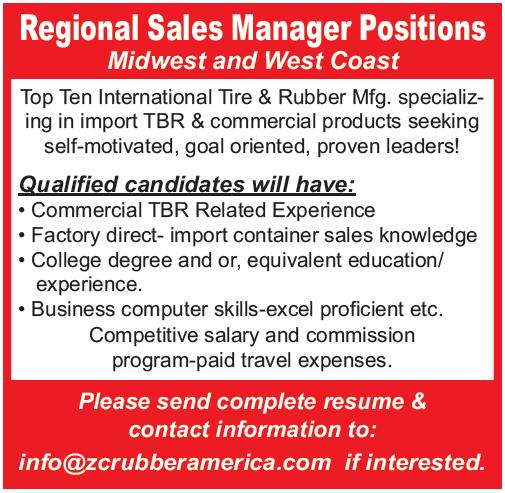ZC Rubber Reg Sales Mgr