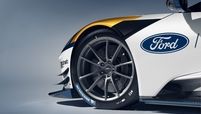 The Ford GT MK II features a new generation of Brembo-brand carbon/ceramic brake discs.
