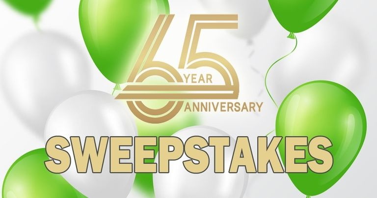 Sullivan Tire's '65 Prizes for 65 Years' sweepstakes runs through Oct. 14