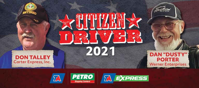 TravelCenters honors two drivers with Citizen Driver awards