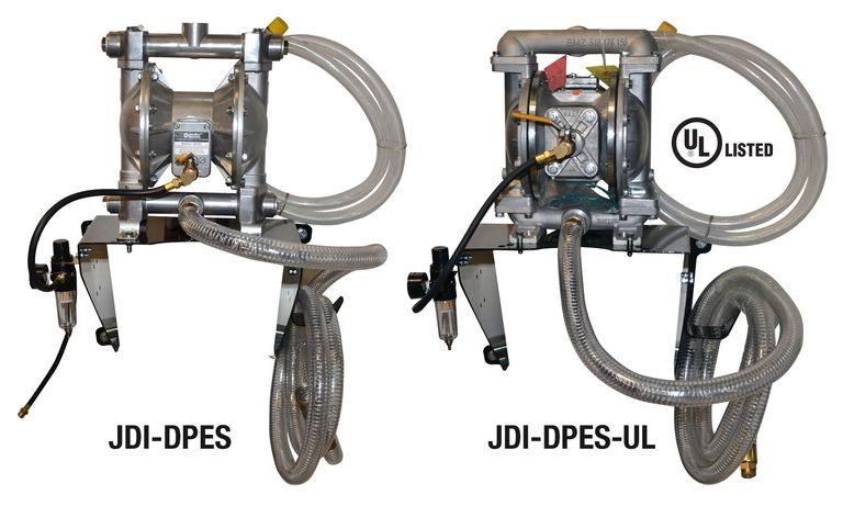 JohnDow introduces diaphragm pump evacuation kits