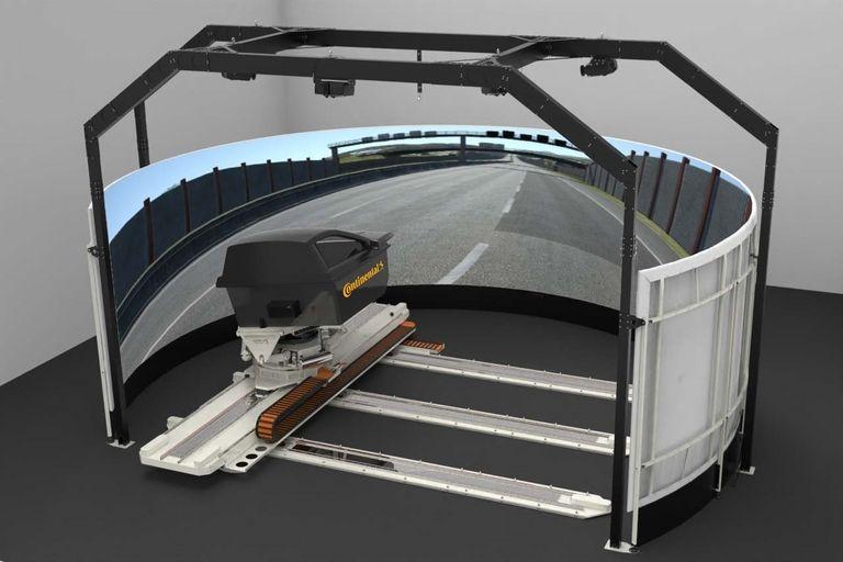 Conti adding dynamic driving simulator at German R&D center