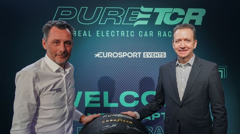 Goodyear to supply electric touring-car racing series ETCR