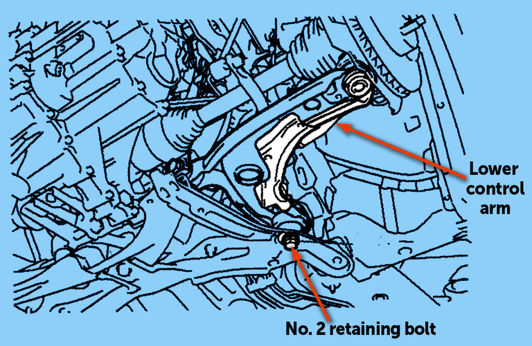 Loose retaining bolt may be reason for Scion's clunking noise