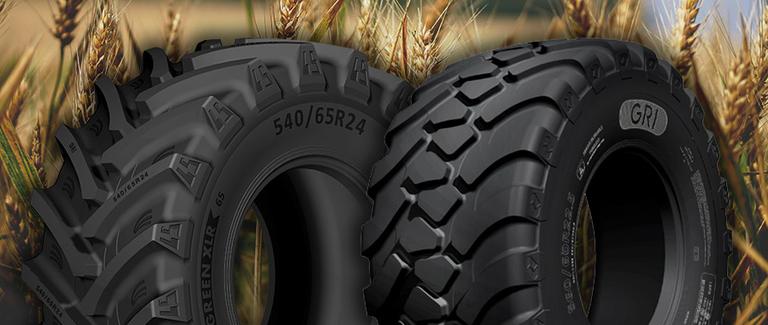 GRI to display Green series OTR tires in Spain
