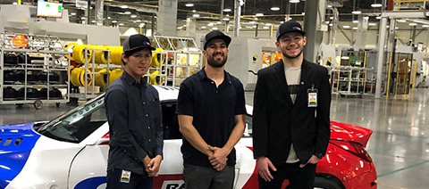 Giti signs 3 'up-and-coming' drivers for Formula Drift