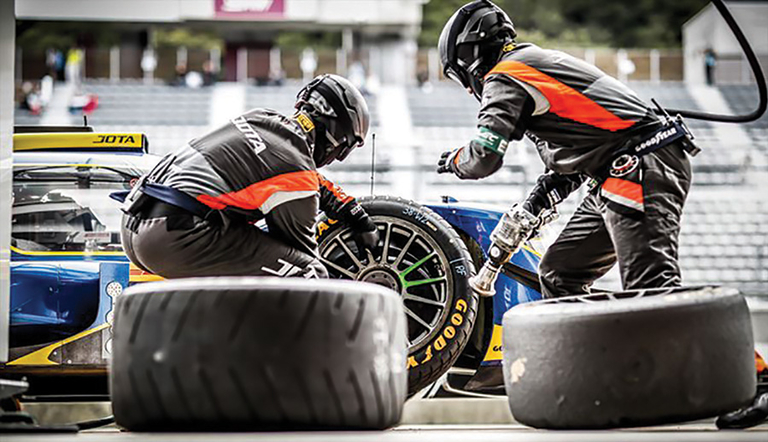 Supply side motorsports: Single tire supplier becoming norm in major racing series