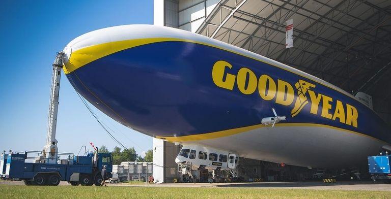 Goodyear 'blimp' flying over Europe again