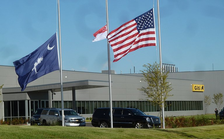 Giti to suspend work at U.S. plant for 2 weeks amid COVID-19 pandemic