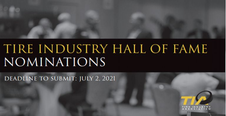 TIA seeking nominations for Tire Industry Hall of Fame