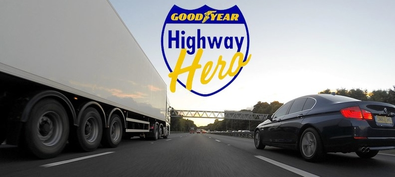 Goodyear extends deadline for Highway Hero Award nominations