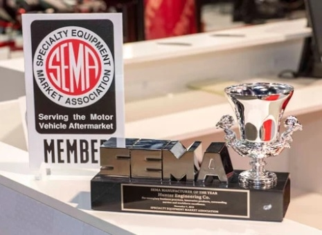 SEMA names Hunter Engineering 2019 'Manufacturer of the Year'