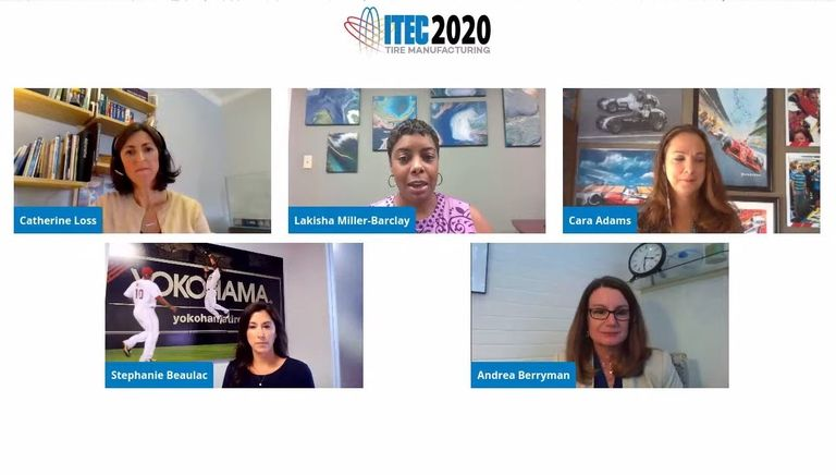 Women leaders share their experiences while working in the tire business