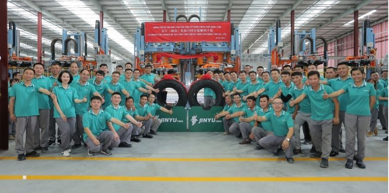 Jinyu Tire starts truck tire production at Vietnam plant