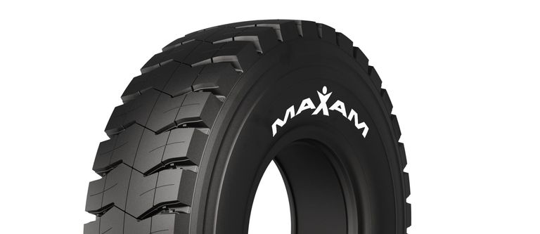 Maxam debuts mining haulage tire for open-pit applications
