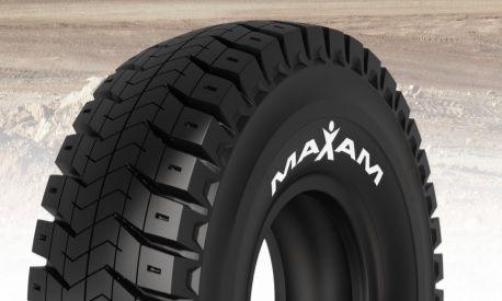 Maxam adds 63-inch tire to MS open-pit mining portfolio