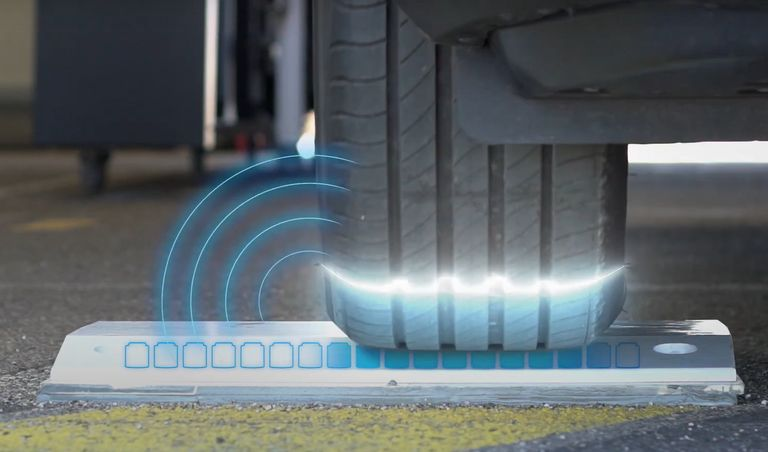 Michelin adapts 'QuickScan' tire monitoring system to cars