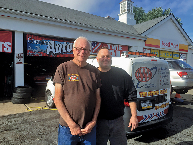 Curb appeal, cleanliness, collectibles: Pennsylvania service station offers more than gas, auto repair