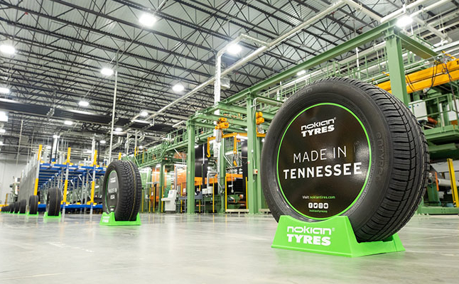 Nokian extends U.S. plant hiatus; reopens Russian factory