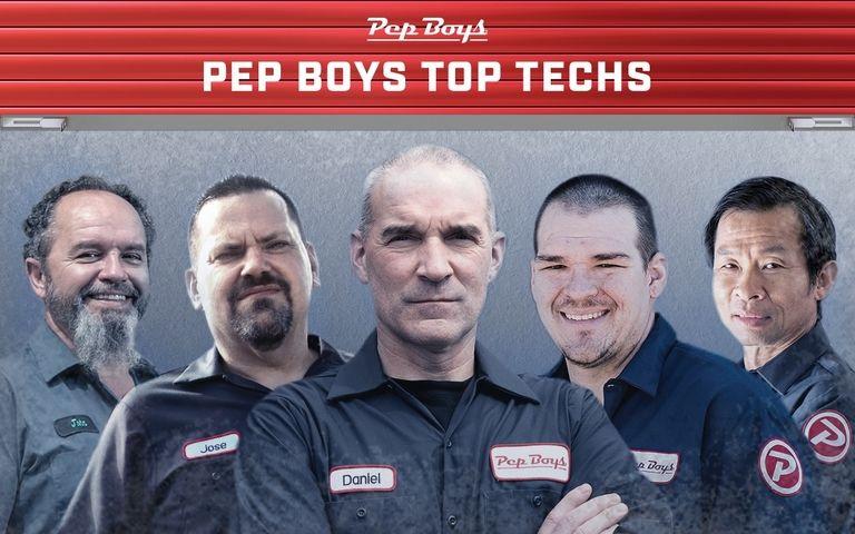 Pep Boys names 5 'top techs'