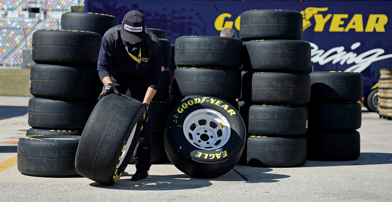 PHOTO GALLERY: Goodyear manufacturing team helps forge successful partnership with auto racing