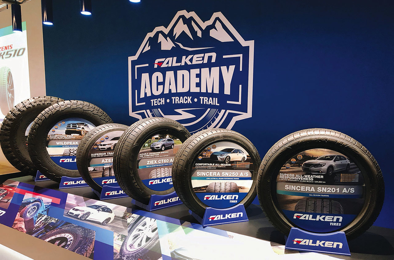 PHOTOS: Falken Academy builds brand reputation, educates dealers