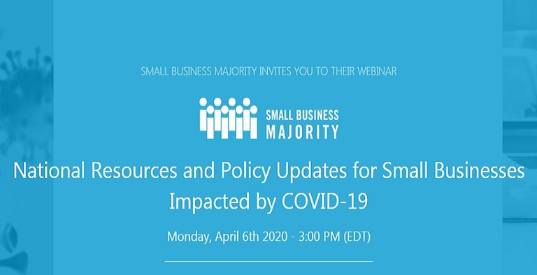 Small Business Majority hosting webinar on ins and outs of COVID recovery stimulus package
