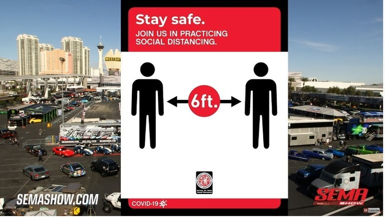 SEMA Show to require face masks