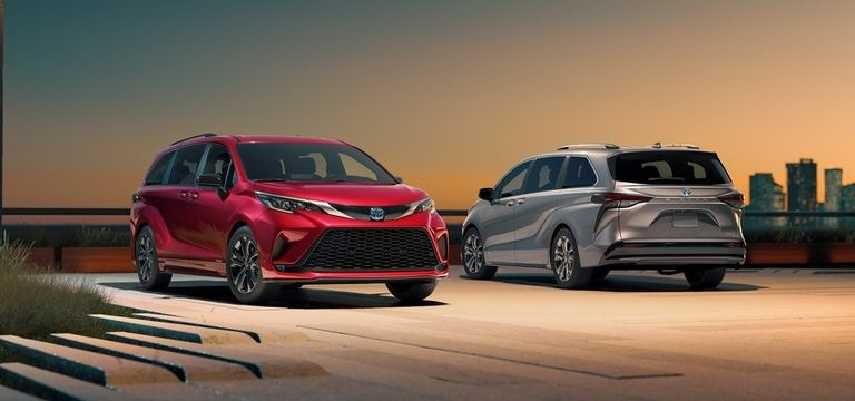 Falken Ziex all-season spec'd OE on the 2021 Toyota Sienna minivan