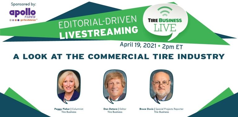 Tire Business livestream to focus on commercial tire industry