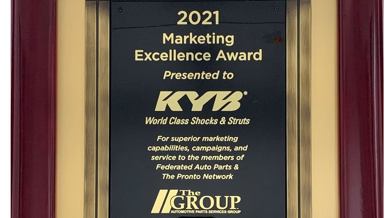 KYB Corp. among winners of The Group vendor awards