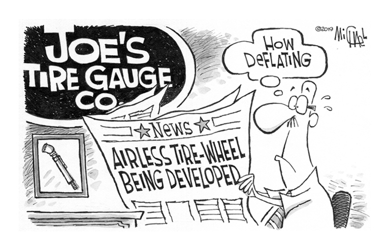 Letter to the editor: Air gauges provide plenty of benefits
