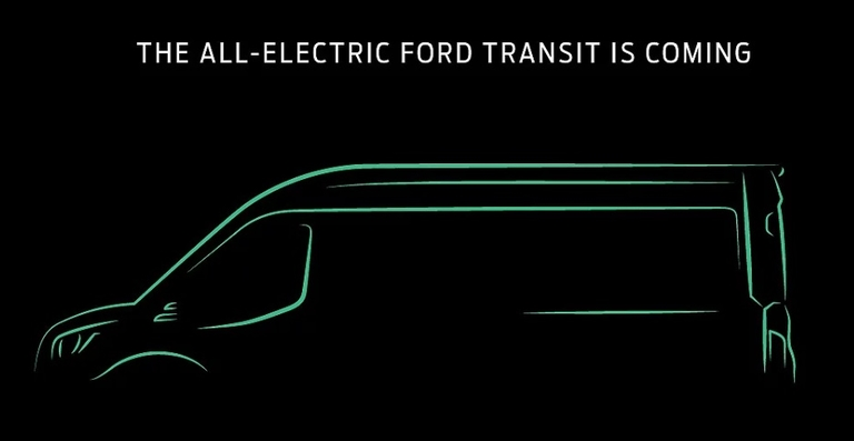 Ford to offer electric version of Transit cargo van in 2022