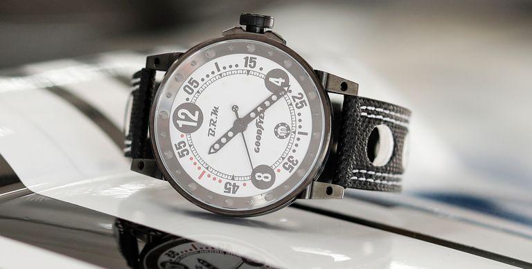 Goodyear, B.R.M. Chronographes partner for watch line