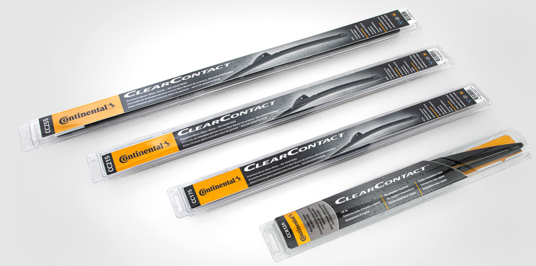 Conti adds 'ClearContact' wiper blade line