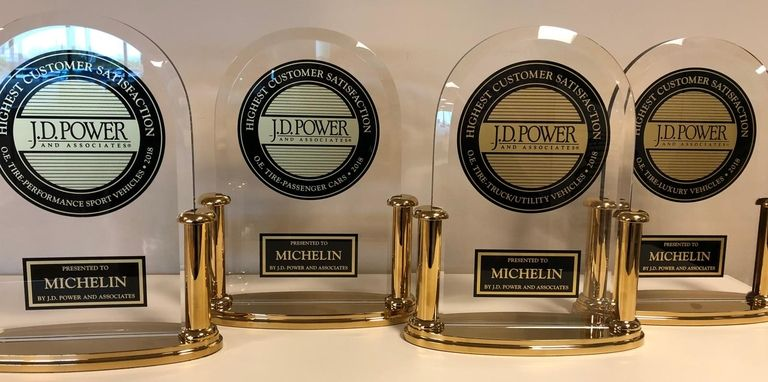 Michelin sweeps J.D. Power OE honors