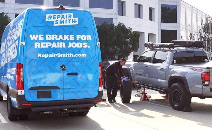 RepairSmith launches on-site fleet vehicle service