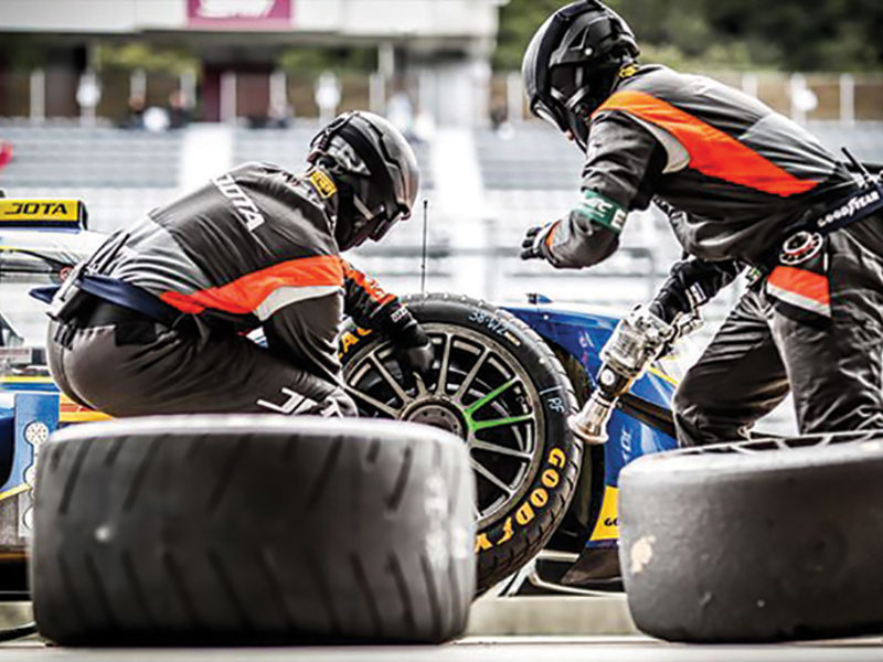 Single tire supplier becoming norm in major racing series