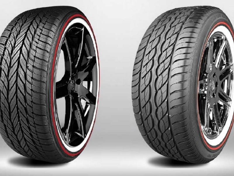 Cash For Clunkers >> Vogue Tyre sees red in limited-edition anniversary model