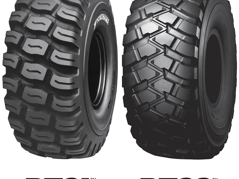 Yokohama releases new E-3 radial tires for scrapers
