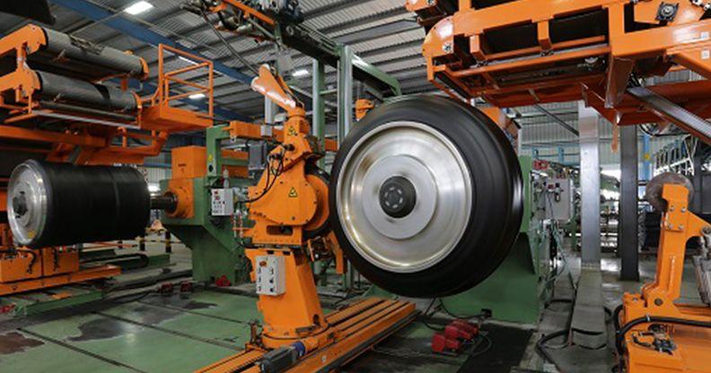 Yokohama India commercial tire plant