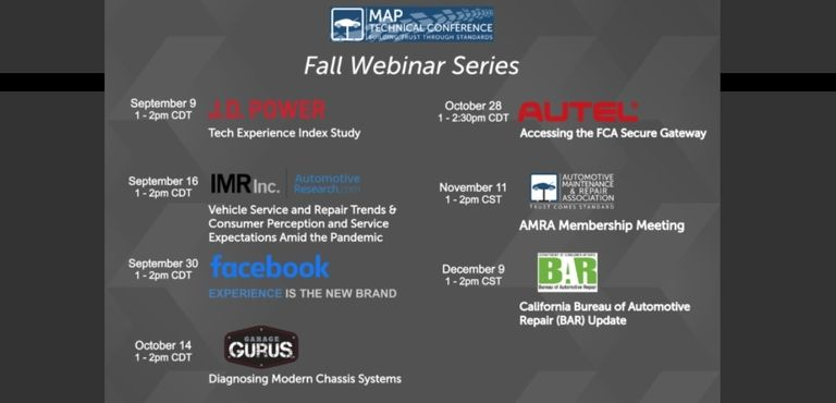 AMRA/MAP to host webinar series in lieu of fall events