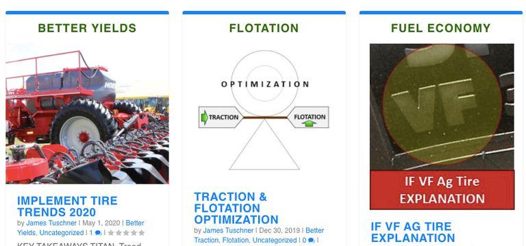 Ag Tire Talk website upgraded for faster, easier navigation