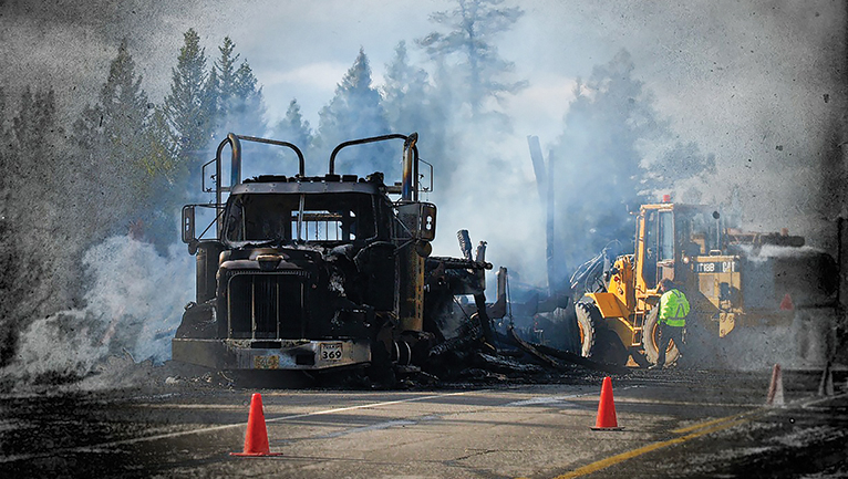 Fisher: Many trailer, truck fires can be prevented