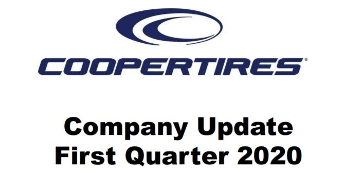 Cooper Tire suffers operating, net losses on 14% lower Q1 sales