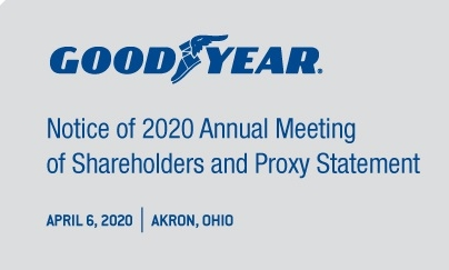 Goodyear's virtual meeting creates issues with shareholder