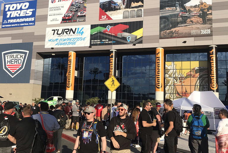 Detore: Assessing the glitz, glamour of SEMA