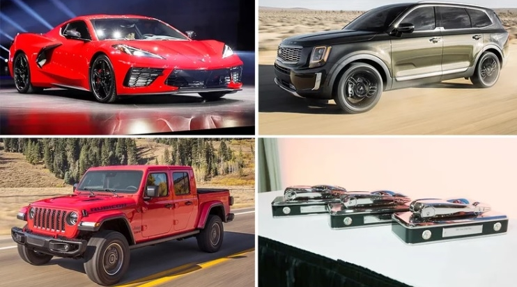 Corvette, Gladiator, Telluride named 2020 car/LT/SUV of the year