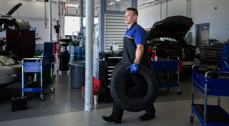 Goodyear Auto Service, Just Tires offering 'zero contact' service