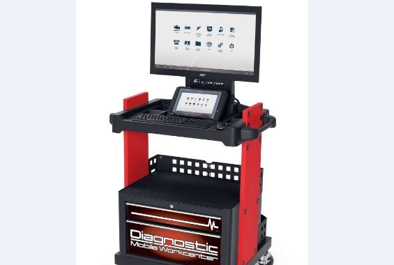 Snap-on introduces diagnostic mobile work center